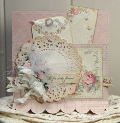 Shabby Chic Card ~