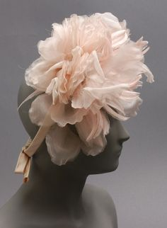 America - Woman's Hat by Gustave Tassell - Pink satin ribbon and organza flowers Bags Online Shopping, Discount Shopping, Online Bags, Types Of Gowns, Ideal Shape, Organza Flowers, Philadelphia Museum Of Art, Stylish Handbags, Colorful Fashion