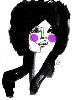 Stina Persson's IllustrationsStina Persson's Illustrations Love Illustration, Ink Illustrations, Watercolor Illustration, Fashion Illustrations, Stina Persson, Fashion Sketches, Female Art, Illustrators, Design Art
