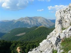National Park of Abruzzo in Italy