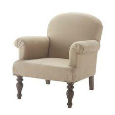 Linen Armchair - Cabourg