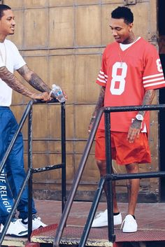 Tyga wearing  Common Projects Original Achilles Low, Mitchell