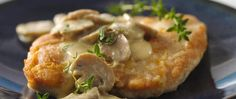 Betty Crocker's Diabetes Cookbook and Heart Healthy Cookbook share a recipe!   Dijon and mushrooms turn boring chicken into tasty chicken that can be on your dinner table in less than 30 minutes.