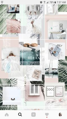 How to Make a Puzzle Feed Without Photoshop — Paper & a Plan - Wallpapers Instagram Design, Instagram Feed Layout, Instagram Grid, Instagram Plan, Instagram Posts, Web Design, Layout Design, Blog Layout, Wallpapers Rosa