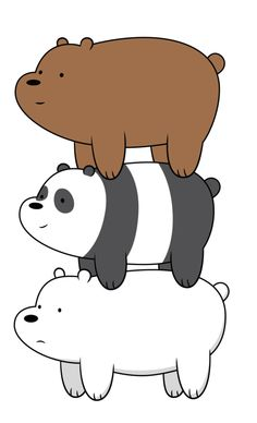 [Vector] We Bare Bears by FALExD on @DeviantArt