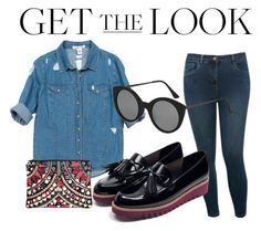 """""""Look under 150$"""" by imanko on Polyvore featuring mode, Sans Souci, M&Co, Zara, Boohoo et Topshop"""