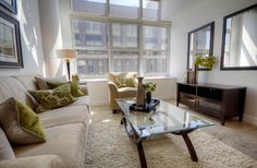 Concrete Column, Concrete Floors, Toronto Lofts, Yonge Street, High Windows, Multi Family Homes, Guest Suite, Window Wall, Workout Rooms