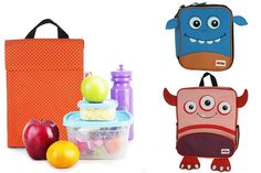 Nuby Monster Backpack & Lunch Bags