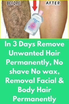 In 3 Days Remove Unwanted Hair Permanently, No Shave No Wax, Removal Facial