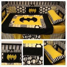 - Batman Clothing - Ideas of Batman Clothing - Batman Nursery! Batman Baby Room, Batman Nursery, Baby Superhero, Marvel Nursery, Baby Boy Bedding, Baby Bedroom, Baby Boy Rooms, Baby Boy Nurseries, Baby Crib