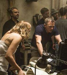 Même Léa Seydoux et Daniel Craig aiment revoir des scènes de Spectre entre deux prises !