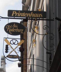 Aken - Printenhaus Aloïs Roderburg - Pontstraße 26