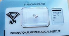 Diamante a forma di Cuore certificato IGI Anversa