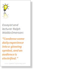 lecturer Ralph Waldo Emerson
