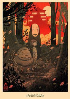 40 Ilustraciones para celebrar el cumpleaños de Hayao Miyazaki | FURIAMAG | Visibilizamos - Inspiramos - Conectamos