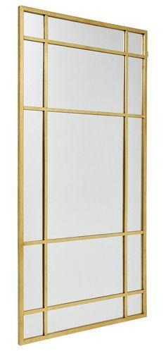 Nordal - Spirit Spejl - Stilfuldt spejl fra Nordal. Spejlet har en messingfarvet ramme der både går rundt om spejlet og indover spejlet. Et spejl der med sikkerhed vil skabe et eksklusivt udtryk. Dette produkt er delvist håndlavet, og derfor kan uregelmæssigheder samt variationer i farver, finish og størrelser forekomme, hvilket er en del af produktets unikke look.