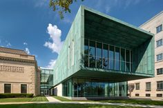 copper-clad wing expands ohio's columbus museum of art