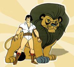 Sansão e Golias desenho