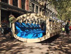 wover the woven rocker teeters at 2014 seattle design festival