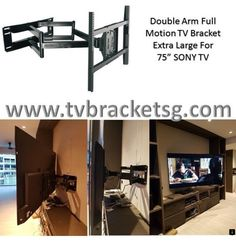 Why TV Bracket Singapore Installation Should Be Left to the Professionals Tv Wall Brackets, Tv Bracket, Motorized Tv Lift, Television Console, Plasma Tv Stands, Console Styling, Hide Wires, Corner Tv, Wall Mounted Tv