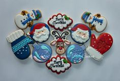 Merry Christmas 2014   By Patty's Cookies   http://pattyscookies.blogspot.com/