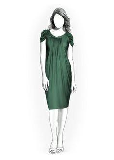 5982 PDF Dress Sewing Pattern Women Clothes by TipTopFit on Etsy, $2.49