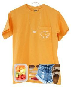 0dd7611d74 A fashion look from May 2017 featuring pocket t shirts