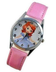 New First Princess Wrist Quartz Ladys Man Girl Child Boy Watch 258