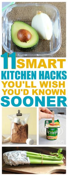 Kitchen organization starts with quick and easy dinner recipes. Use these kitchen hacks to keep your cooking and cleaning fast and easy. #8 shocked me!