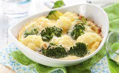 Brócolis gratinado com molho branco light: anote a receita fácil e rápida de fazer.