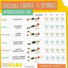 Challenge gainage