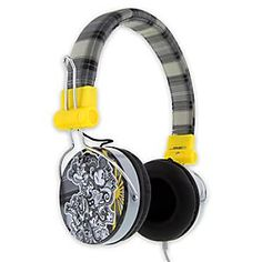 Disney Mickey Mouse Plaid Headphones for Adults