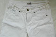 Calça Jeans Branca Equatore | Loja Café Brechó