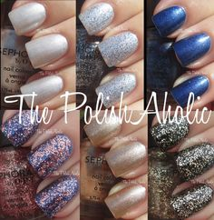 The PolishAholic: Sephora by OPI Disney Cinderella A Brush With Fate Collection Swatches