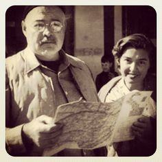 Fernanda Pivano e Ernest Hemingway #writers #stories