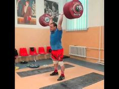 Илья Ильин Толчок 242 кг Ilya Ilyin clean and jerk 242 kg