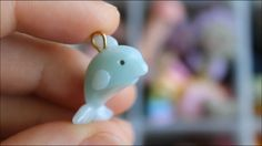 Polymer clay Dolphin