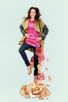 Czech designer Klára Nademlýnská Kimono Top, Designers, Tops, Women, Fashion, Moda, Fashion Styles, Fashion Illustrations, Woman