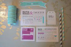 une histoire de faire part de mariage par … Katia