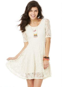 Rosie Lace Dress - Dresses - Clothing - dELiA*s