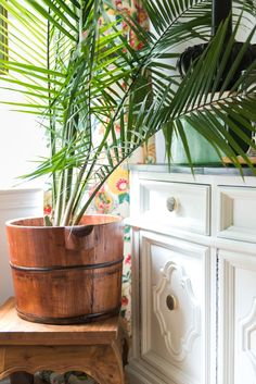 Amanda Louise Interiors Yellow Kitchen Photo by Luke Cleland Kitchen Photos, Wood Pieces, Happy Weekend, Boy Room, Some Fun, Craft Stores, All The Colors, Amanda, Planter Pots