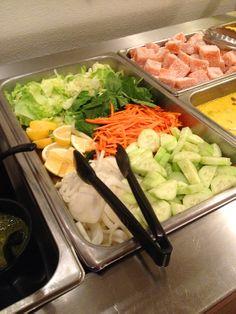 Delicious, fresh salad!