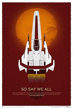 Battlestar Galactica- 10Th Anniversary Art Print Poster 27 x 40in