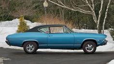 1968 Chevrolet Malibu L79 2-Door Hardtop presented as Lot S191 at Indianapolis, IN