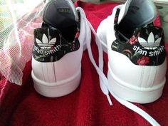Stan Smith Adidas flowers
