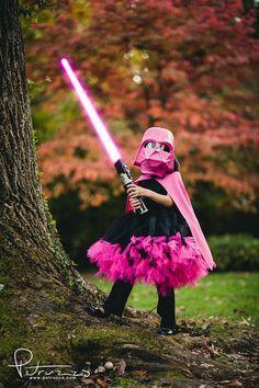 Girl Darth Vader Costume. #starwars #jedi