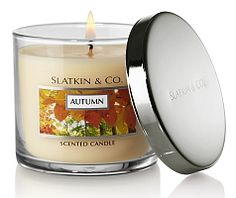 Autumn candle from Bath and Body Works.  My most favorite candle EVER!!!