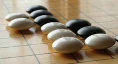 shell and slate GO stones