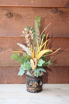 Large flower arrangement ideas wall pocket vase floral for Picture arrangements for large walls