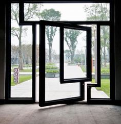 Interesting! Pivot Door